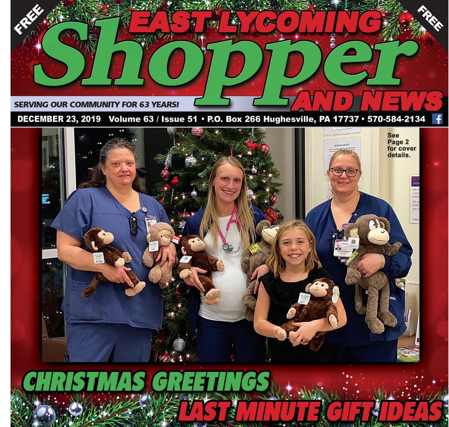Clay Evans Fellowship Church Christmas December 23, 2020 Week of December 23   29, 2019 by East Lycoming Shopper & News   issuu