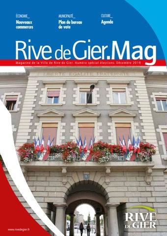 Riv Mag Decembre 2019 By Ville De Rive De Gier Issuu