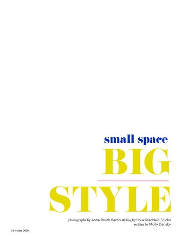 Page 24 of small space BIG STYLE
