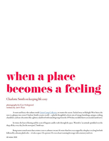 Page 60 of when a place becomes a feeling