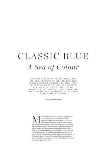 Page 83 of CLASSIC BLUE A Sea of Colour