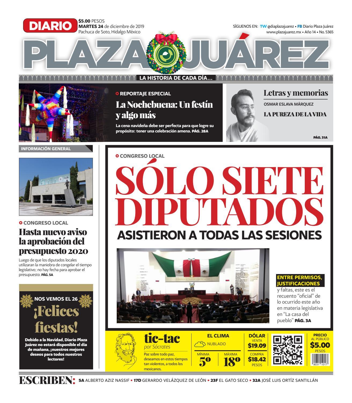 24.12.19 by Diario Plaza Juárez issuu
