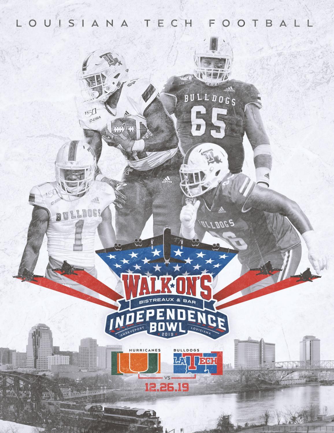 2019 Louisiana Tech Independence Bowl Guide By Louisiana Tech Athletics Issuu