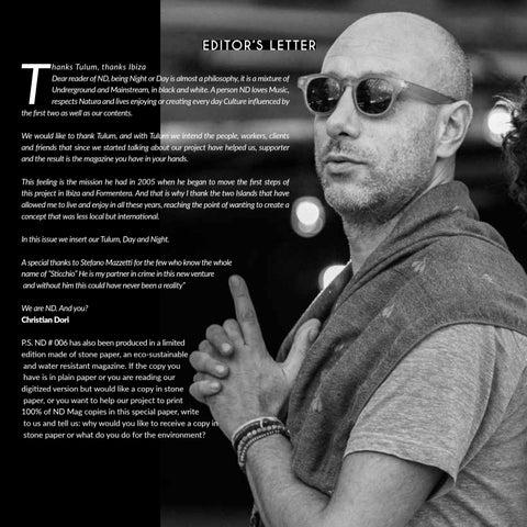 Page 12 of ND #006 NIGHT (Night&Day Magazine Ibiza Year 13 2019)