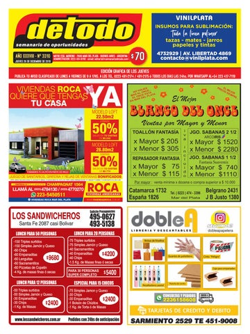 Semanario Detodo - Edición N° 3310 - 26/12/2019 by Semanario ... on