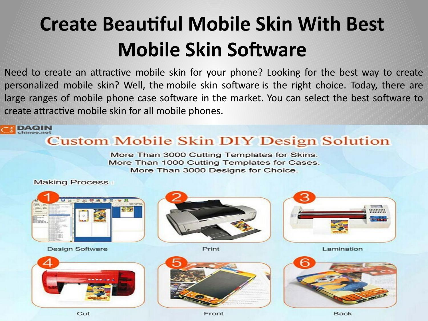 Create Beautiful Mobile Skin With Best Mobile Skin Software By Sam Luo Issuu