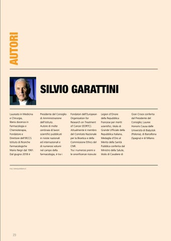 Page 23 of Autori / Manifesto / Dida / Nel prossimo numero