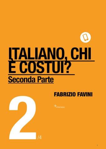 Page 8 of ITALIANO, CHI È COSTUI? Seconda Parte