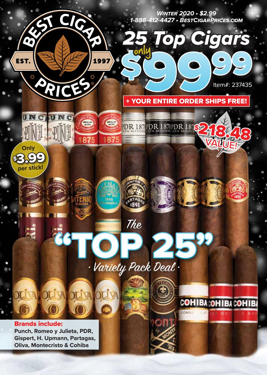 top 25 cigars 2020