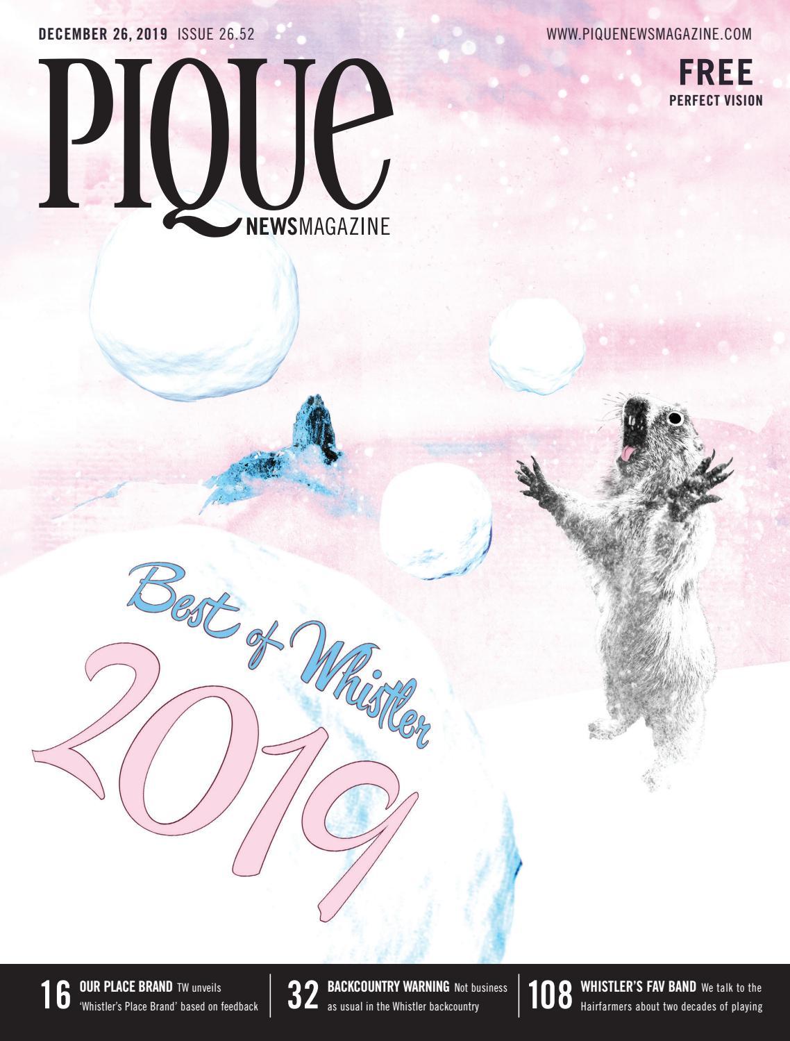 Pique Newsmagazine 2652 By Whistler Publishing Issuu
