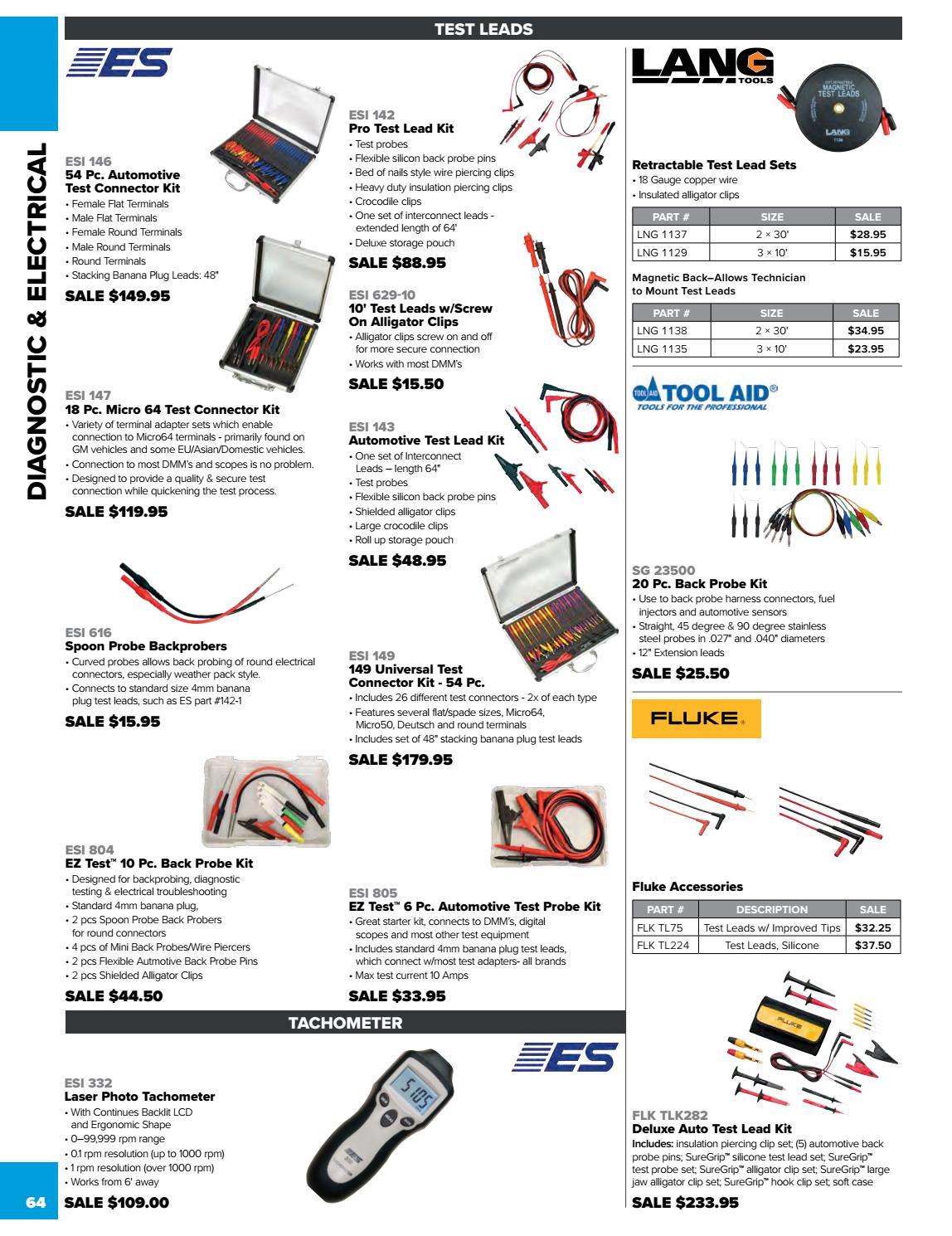 S/&G Tool Aid 23500 Back Probe Kit