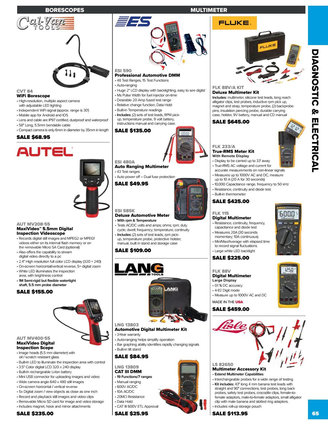 ESI 480A Auto Ranging Multimeter