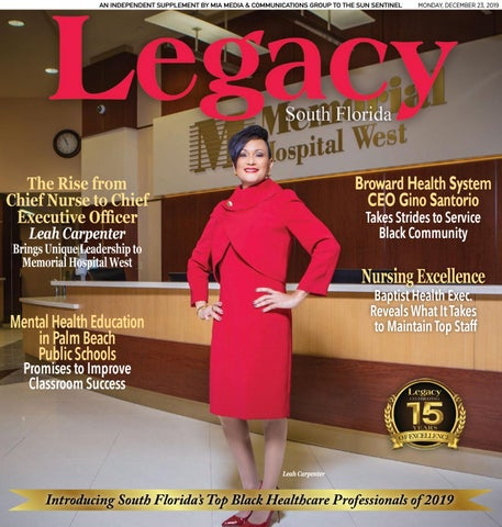 Legacy South Florida - Health Care Issue (2019) by ...