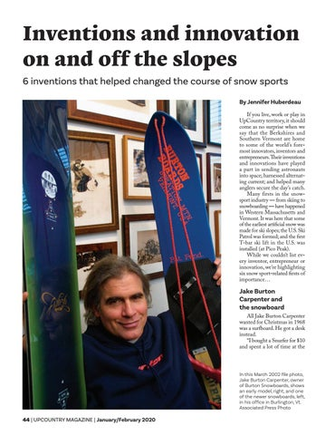 Page 46 of Inventions and innovation on and off the slopes