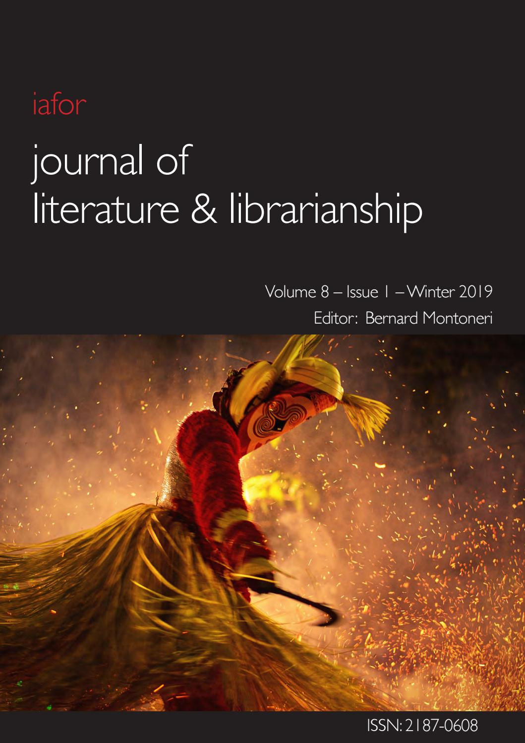 Iafor Journal Of Literature Librarianship Volume 8 Issue 1 By Iafor Issuu