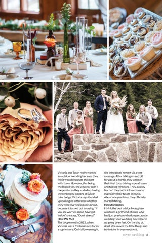 Page 13 of Black Hills Bride 2020 Cover Wedding