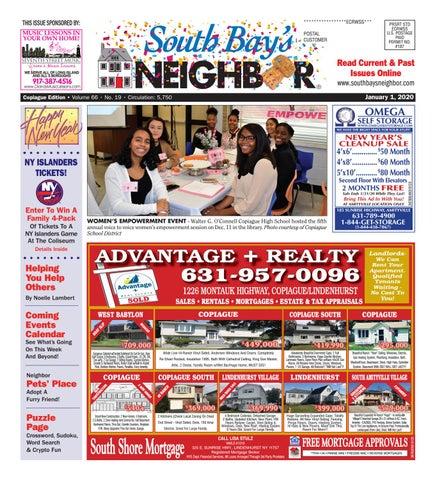 January 1 2020 Copiague By South Bay S Neighbor Newspapers Issuu