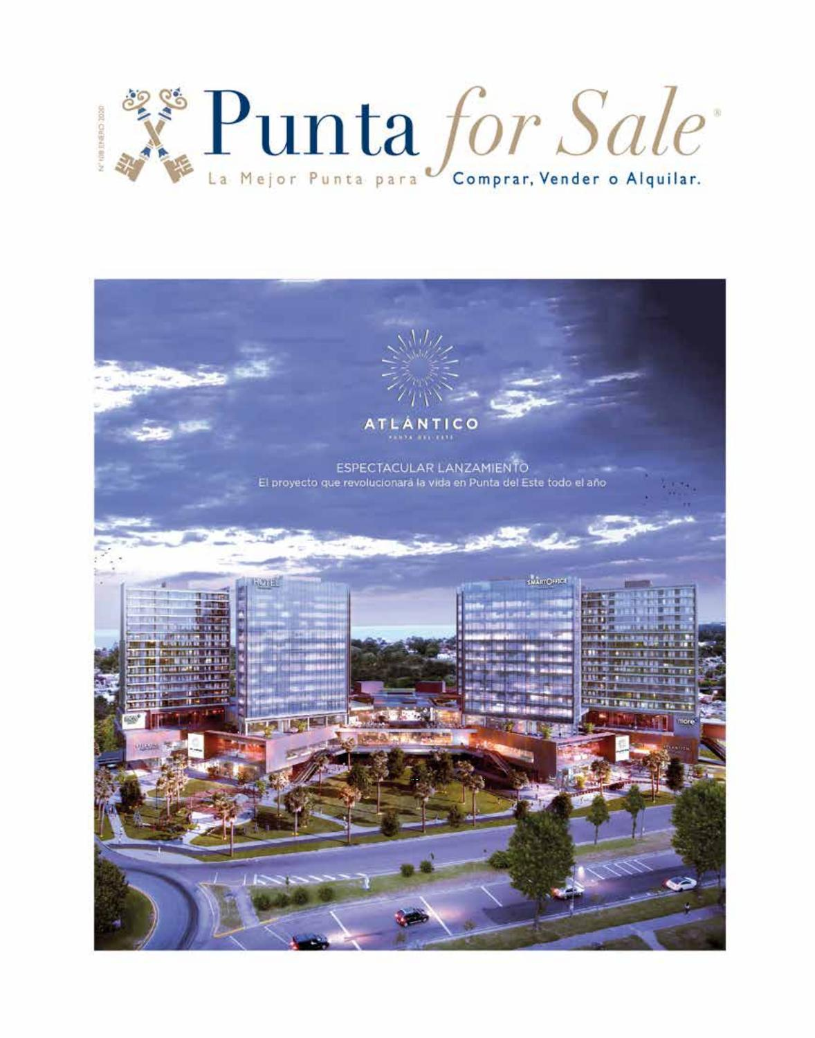 Revista de Real Estate Punta For Sale, edición # 108 Enero 2020