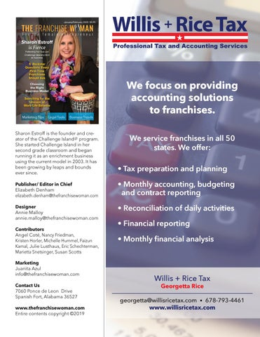 Page 7 of We focus on providing accounting solutions to franchises.
