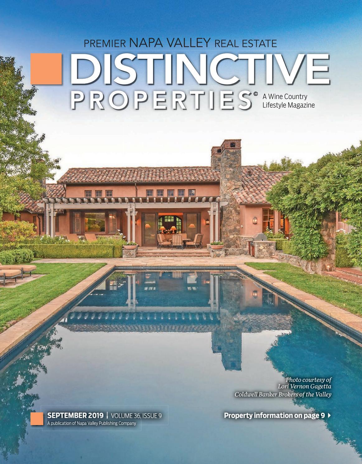 Distinctive Properties - Sep 2019 by Napa Register - issuu