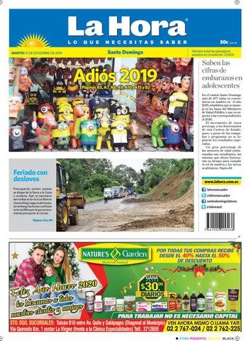 Santo Domingo 31 De Diciembre Del 2019 By Diario La Hora