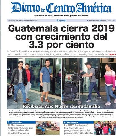 Edición Del Diario De Centro América Del Martes 31 De