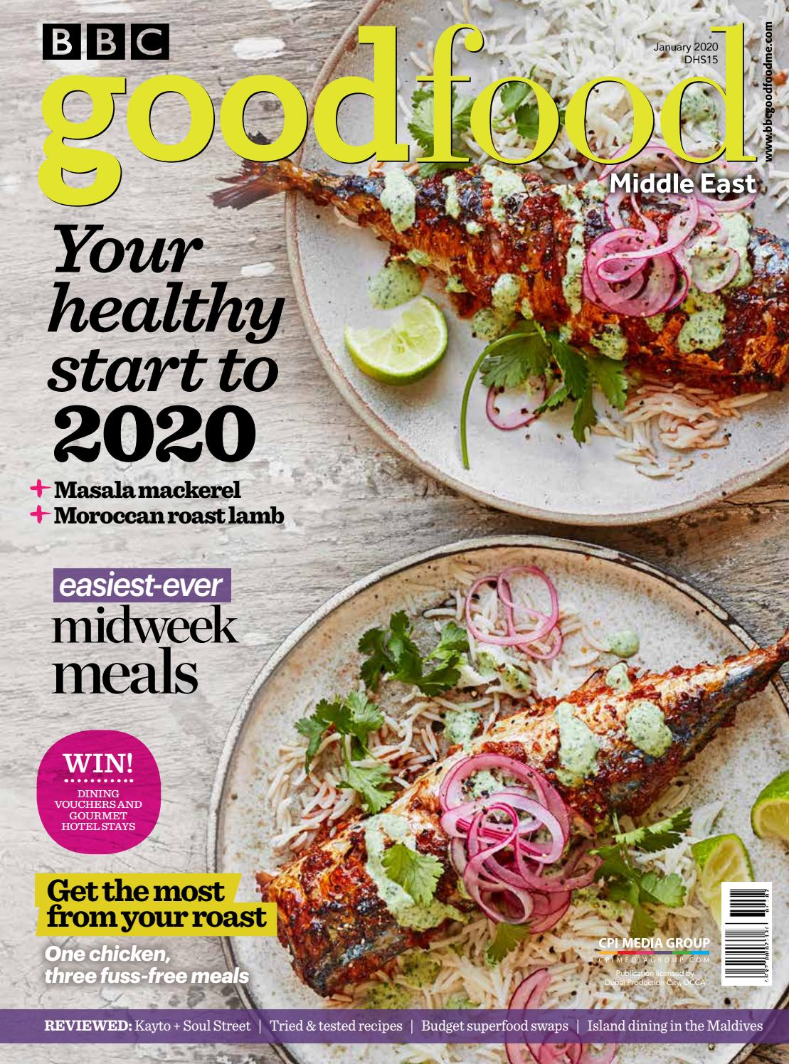 BBC Good Food ME - January 2020