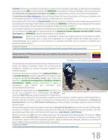 Page 19 of PESCANDO LA NOTICIA - SECTOR PESQUERO NACIONAL