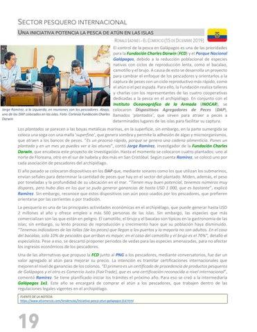 Page 20 of PESCANDO LA NOTICIA - SECTOR PESQUERO INTERNACIONAL