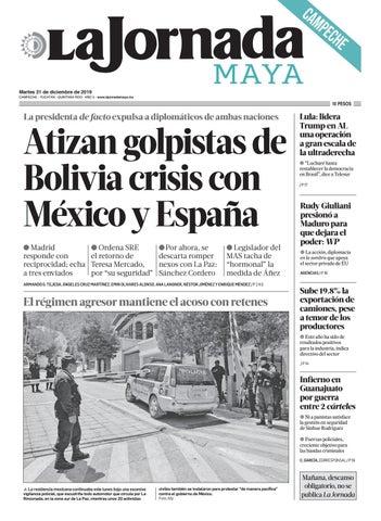 La Jornada Maya Campeche Martes 31 De Diciembre De 2019 By