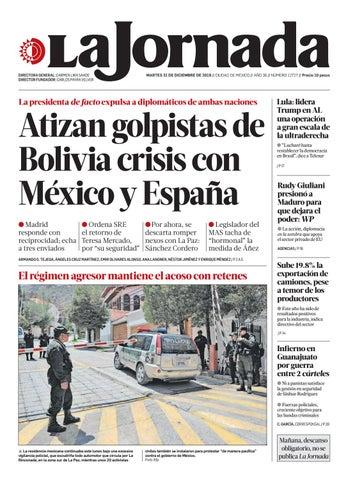 La Jornada 12 31 2019 By La Jornada Issuu