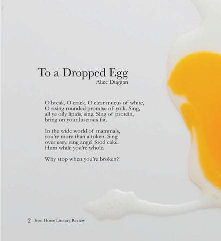Page 10 of To a Dropped Egg, Alice Duggan