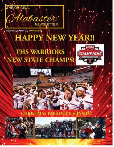 Alabaster Christmas Parade 2020 Original Alabaster Newsletter January 2020 by The Original