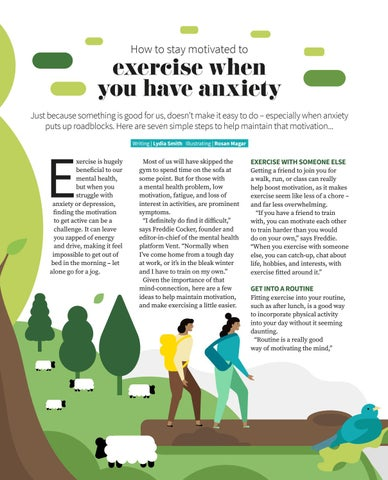 Page 60 of How to stay motivated to exercise when you have anxiety