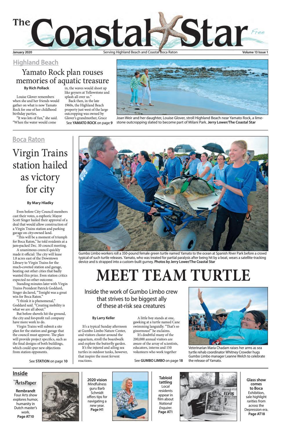 The Coastal Star January 2020 Boca by The Coastal Star issuu