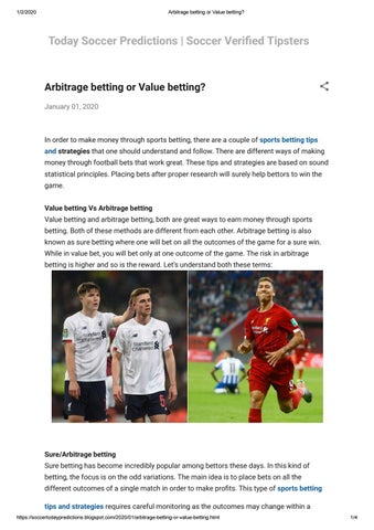 Arbitrage betting football tips bitcoins difficulty getting