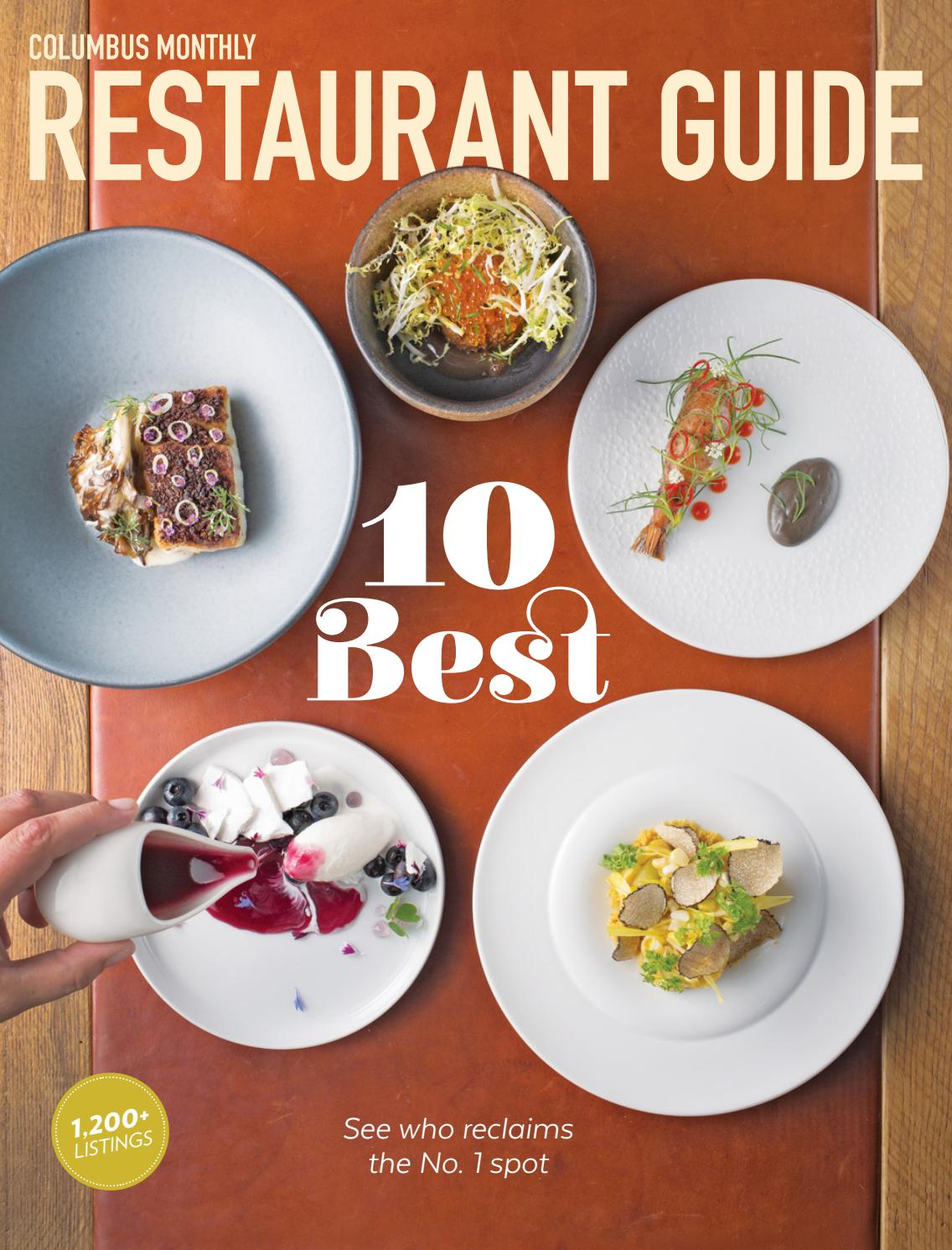 Columbus Monthly Restaurant Guide 2020 By The Columbus Dispatch