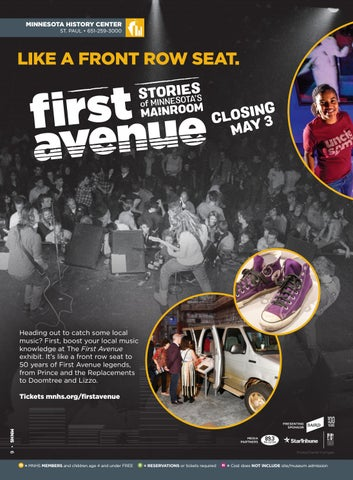 Page 6 of First Avenue: Stories of Minnesota's Mainroom