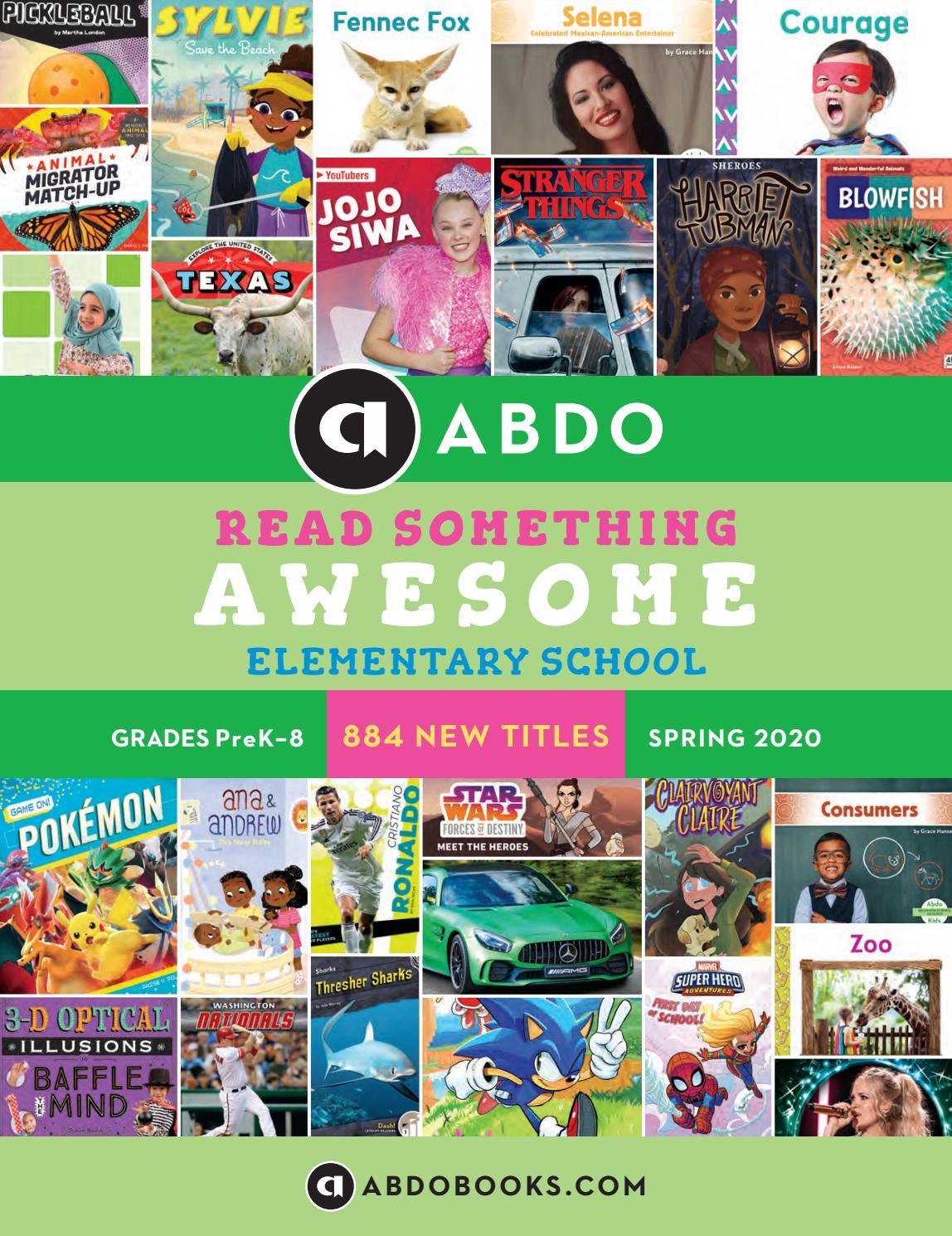 Abdo Elementary Catalogue Spring 2020 By Crosscan Educational