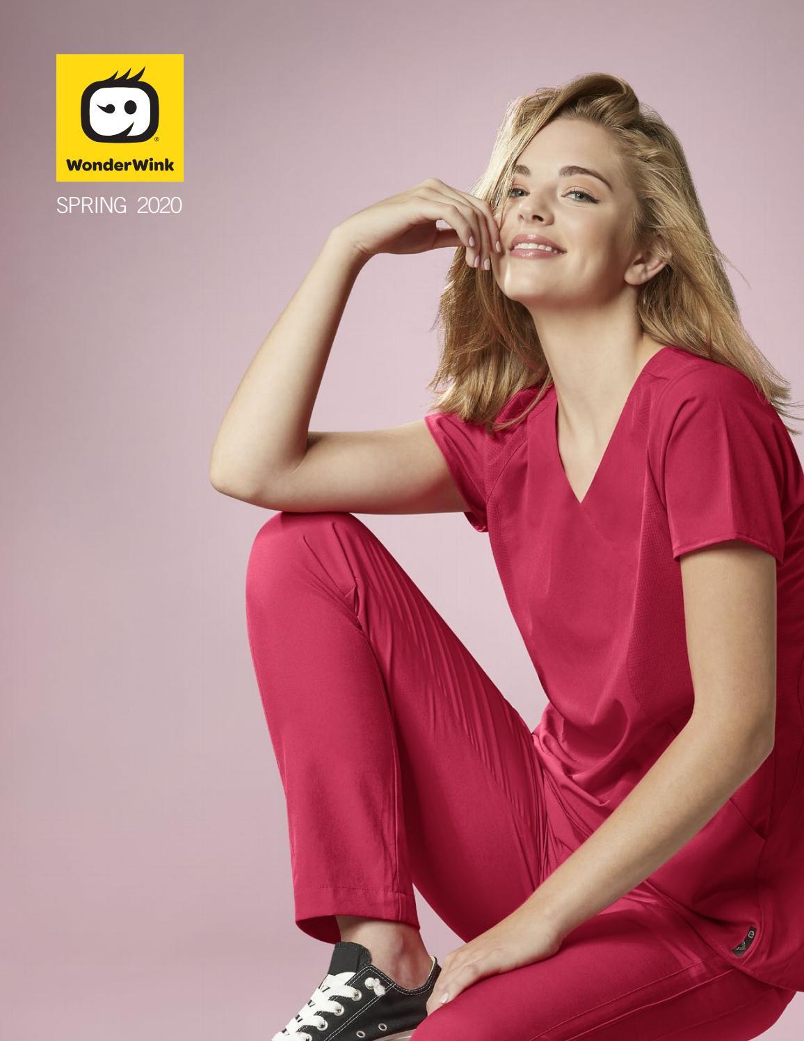 WonderWink Women/'s Origins Kilo Short-Sleeve Front-Zip Top 6086A FREE SHIPPING!