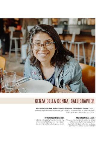 Page 40 of Cenza Della Donna, Calligrapher