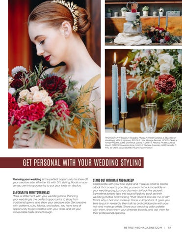 Page 57 of Get Personal with Your Wedding Styling