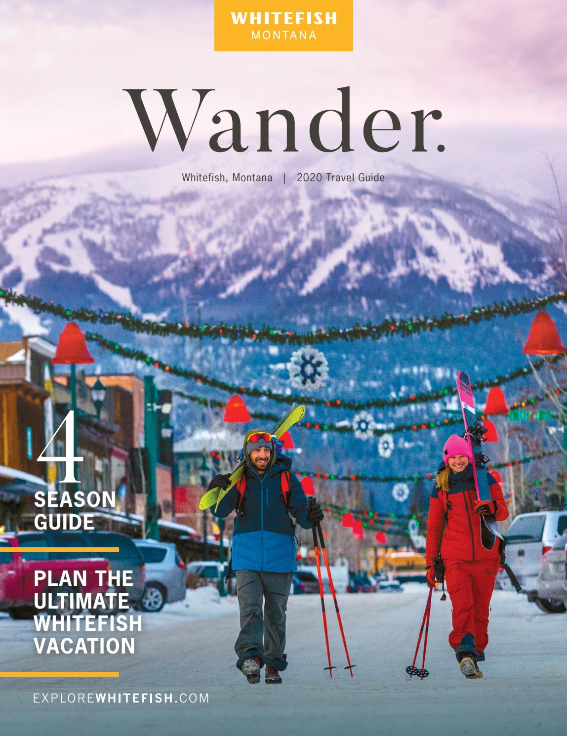 Christmas Carnival Whitefish Mt 2020 Whitefish Montana Travel Guide 2020 by Whitefish Montana   issuu