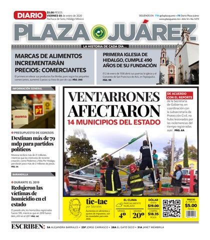 03 01 20 by Diario Plaza Juárez issuu