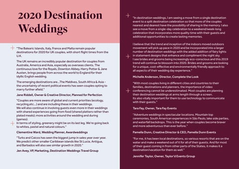 Page 19 of 2020 Destination Weddings