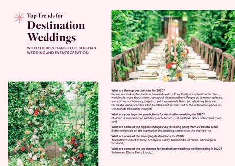 Page 22 of Top Trends for Destination Weddings