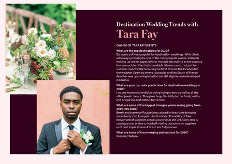 Page 25 of Destination Wedding Trends with Tara Fay