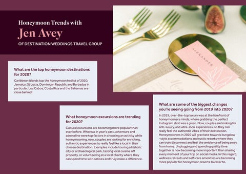 Page 29 of Honeymoon Trends with Jen Avey of Destination Weddings Travel Group
