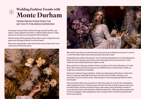 Page 7 of Wedding Fashion Trends with Monte Durham