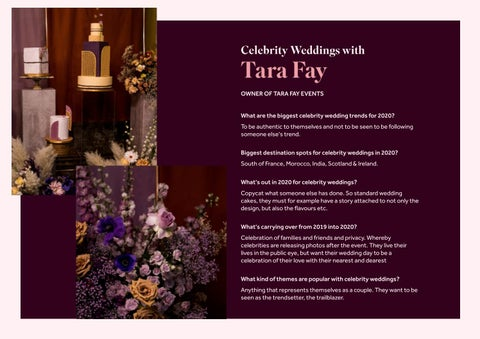 Page 8 of Celebrity Weddings with Tara Fay